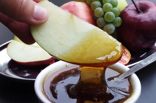 Honey with Apple for pustules