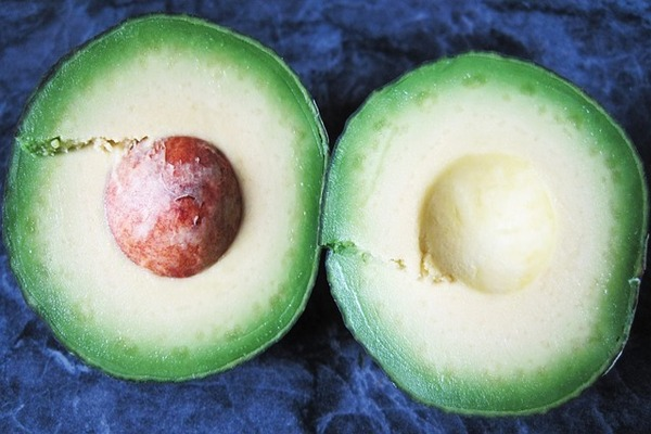 avocado pulp and honey on pimples overnigh