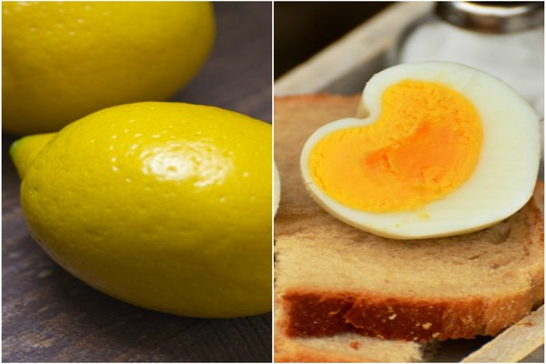 egg white and lemon for blackheads on back