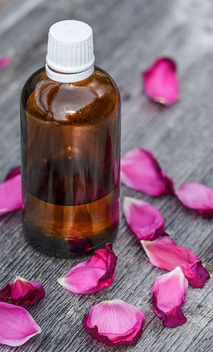 rose water face wash to remove acne