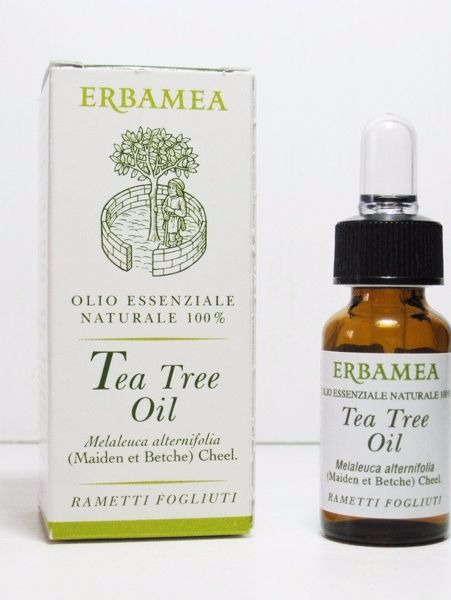 Tea tree essential oil for acne treatment