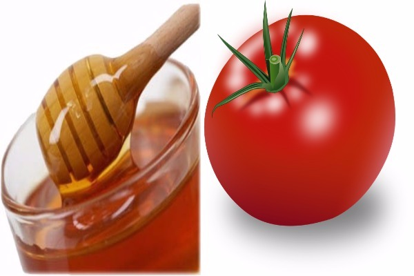 Honey with tomatoes for hard Whiteheads