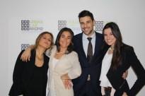 Juanjo Lucas (Office Manager), Helena y Guadalupe (asistentes de dirección /recepcionistas) y Patricia Vidal (Directora de Desarrollo y negocio)