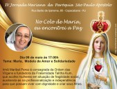 IV Jornada Mariana 2017 Maribel Perez