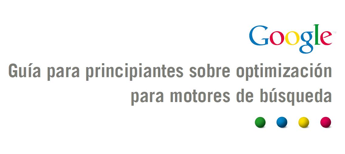 Guía SEO para Webmasters de Google Español