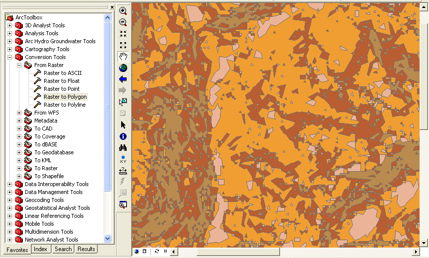 Simplify or generalize polygons in ArcGIS – GeoGeek