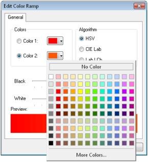 Edit Color Ramp ArcGIS
