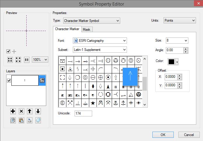 Symbol Property Editor