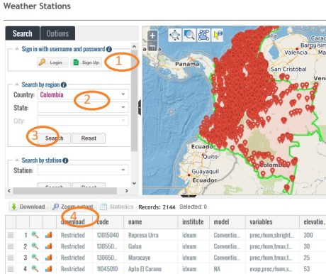 Weather Stations Data