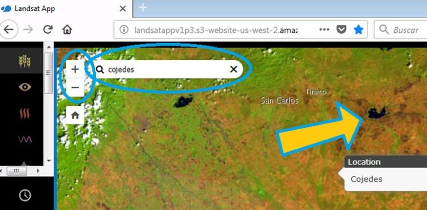 Landsat App