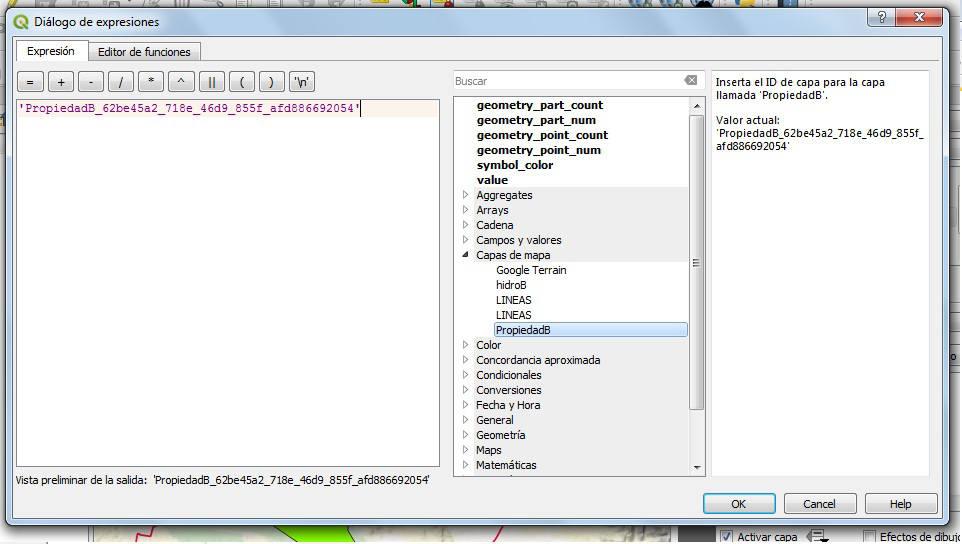Buffer capa QGIS 3