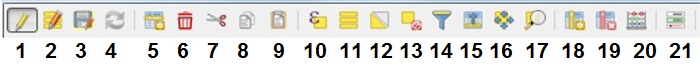 Herramientas tabla de atributos QGIS 3