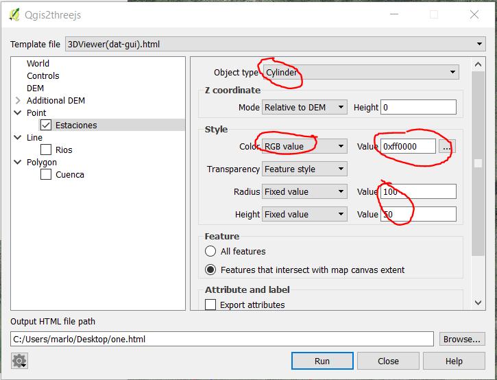 Personalizar símbolos QGIS
