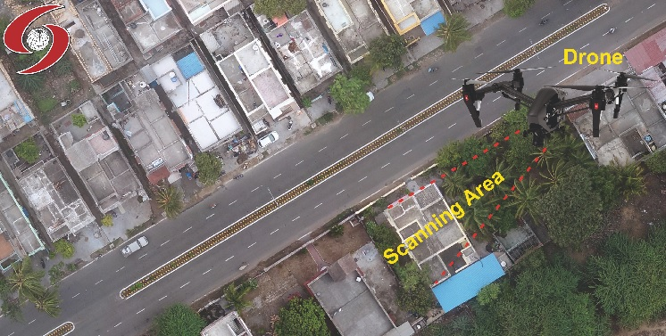drone satpalda