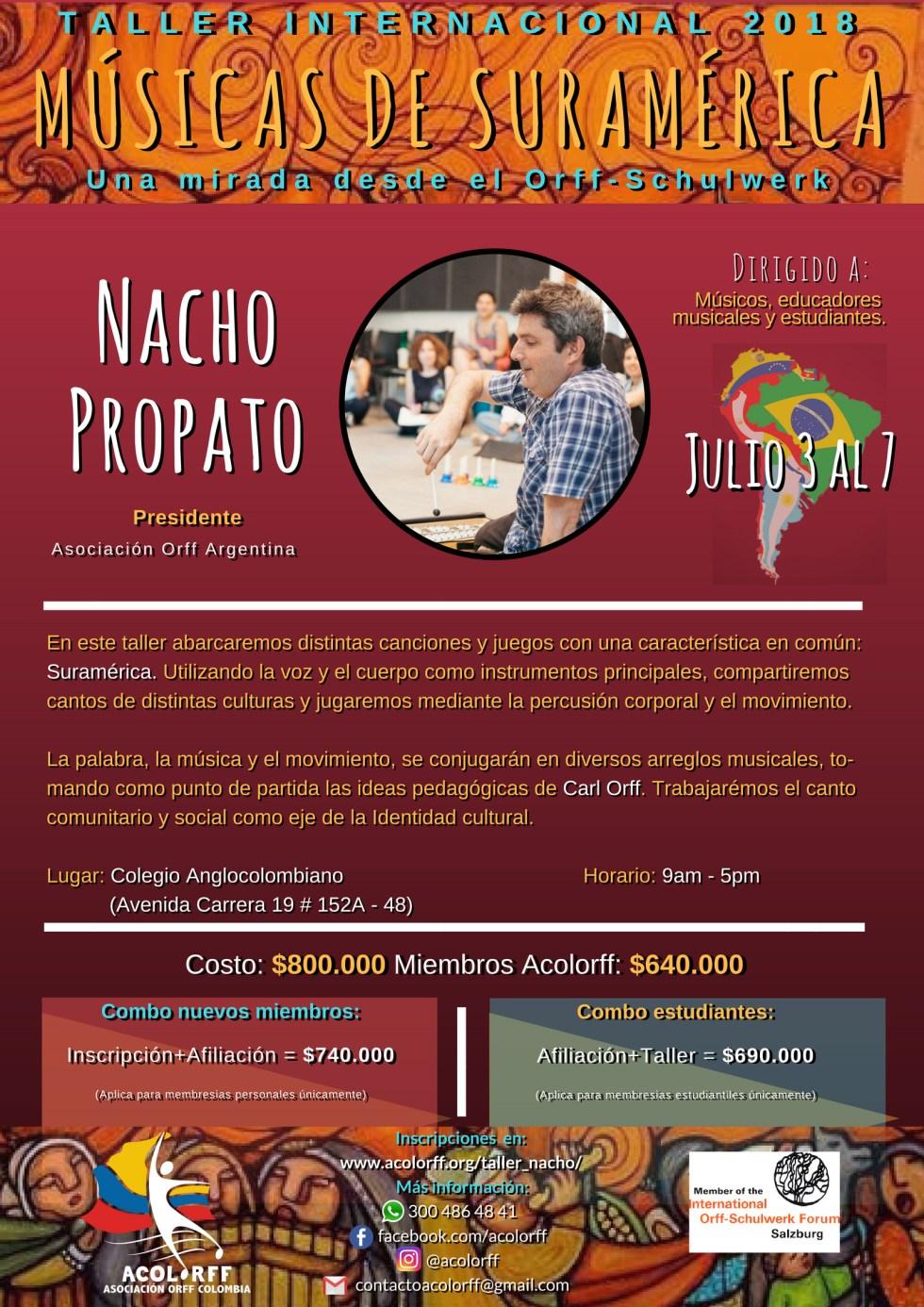 Poster Nacho Propato