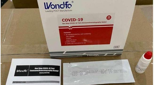 Jandira recebe 720 testes rápidos para detectar o novo coronavírus