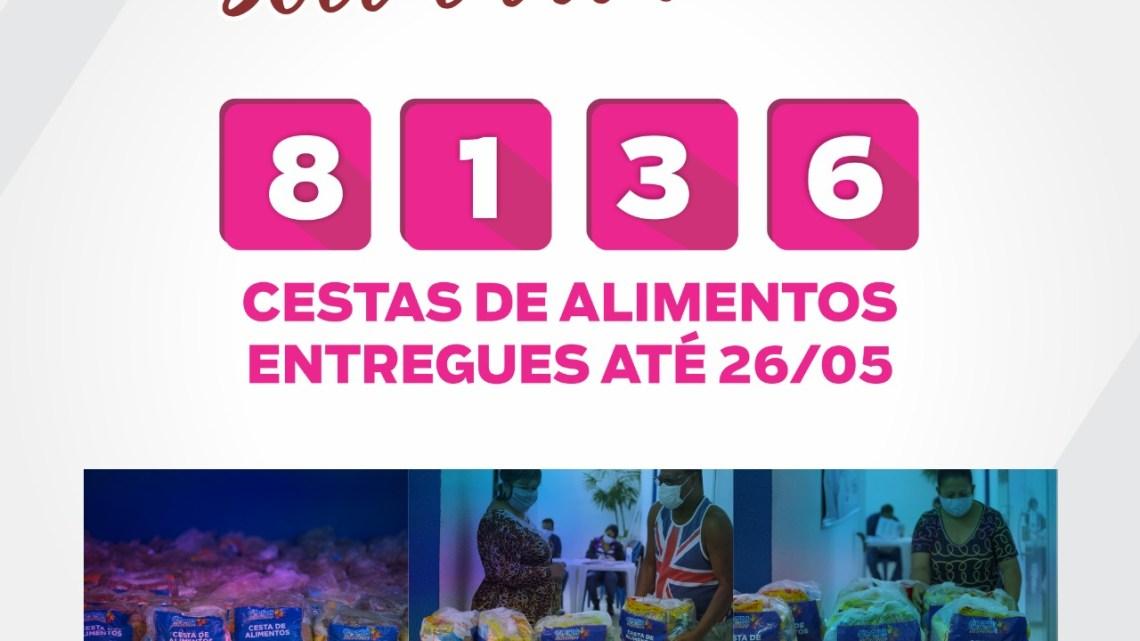 Cotia Solidária já atendeu mais de 8 mil famílias com cestas de alimentos