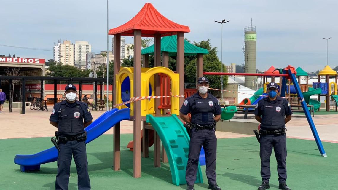 Guarda Municipal interdita brinquedos em praças públicas