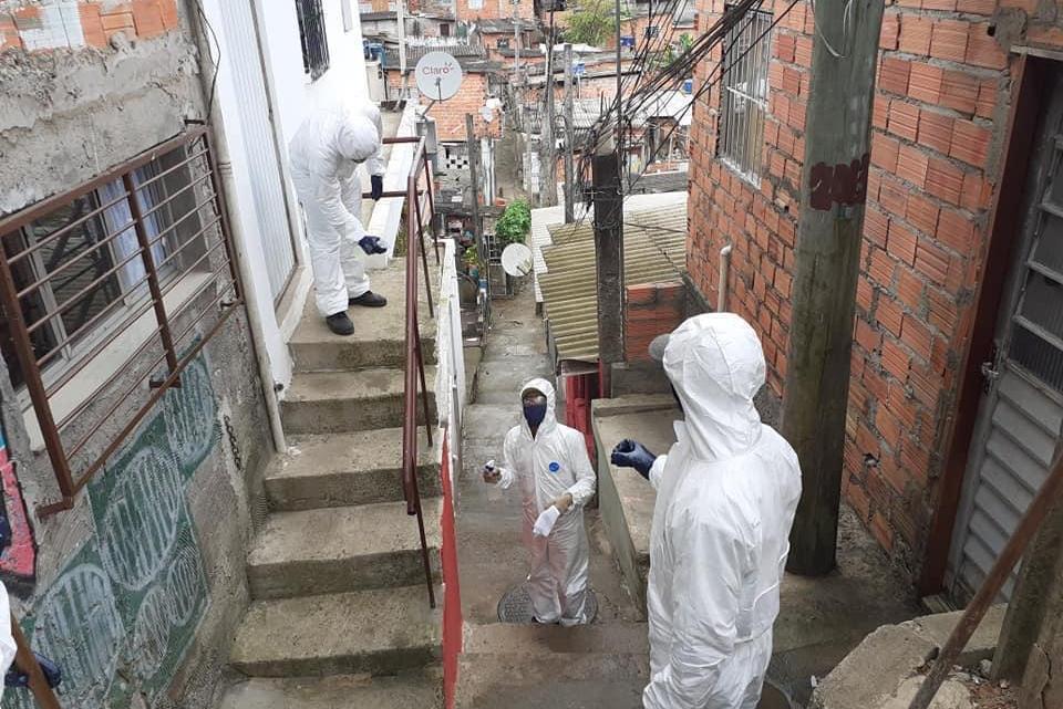 Região do Jd. Turiguara foi a 1ª a receber o mutirão da Operação Desinfecção contra o Coronavírus