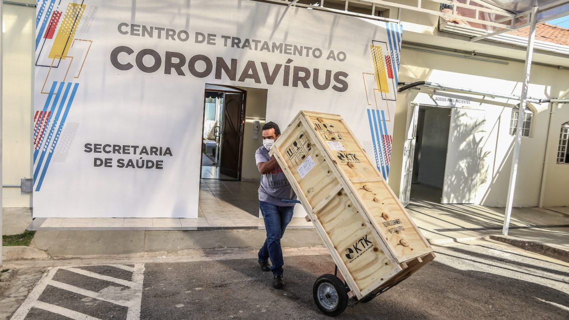 Santana de Parnaíba recebe a entrega de 17 novos respiradores