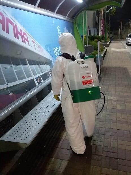 Prefeitura de Barueri intensifica ação sanitária contra o coronavírus