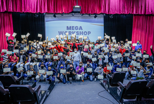 Prefeito Marcos Tonho participa de evento de capacitação de centenas de profissionais em Mega Workshop da Beleza em Santana de Parnaíba