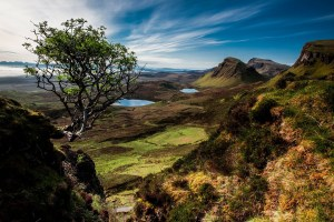 Landscape from the Isle of Skye