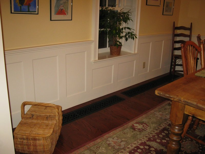 Installing Wainscoting   A Concord Carpenter Photo  concordcarpenter