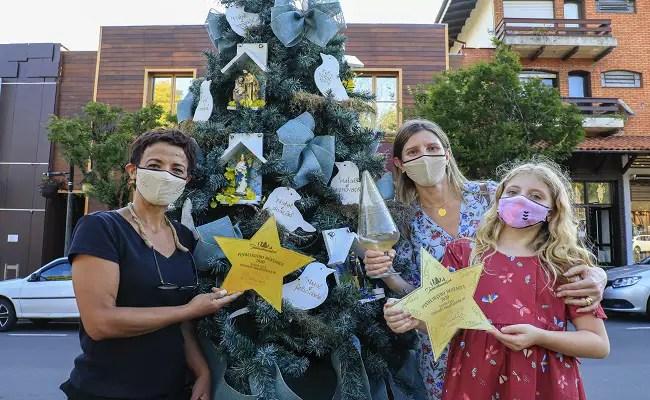 Di Pietro vence concurso de pinheiros decorados no Natal Luz