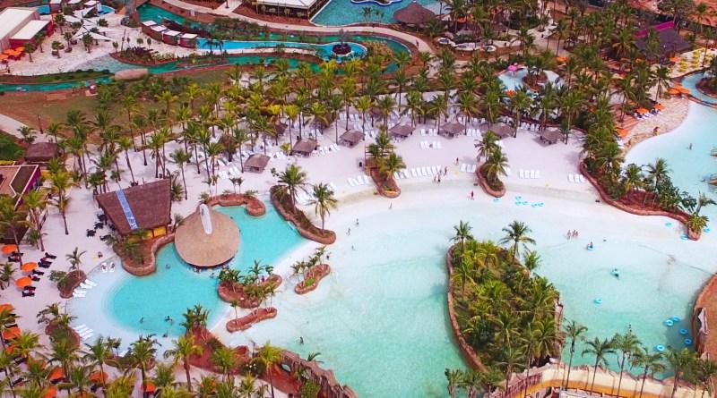 Olímpia é conhecidas por seus parques aquáticos