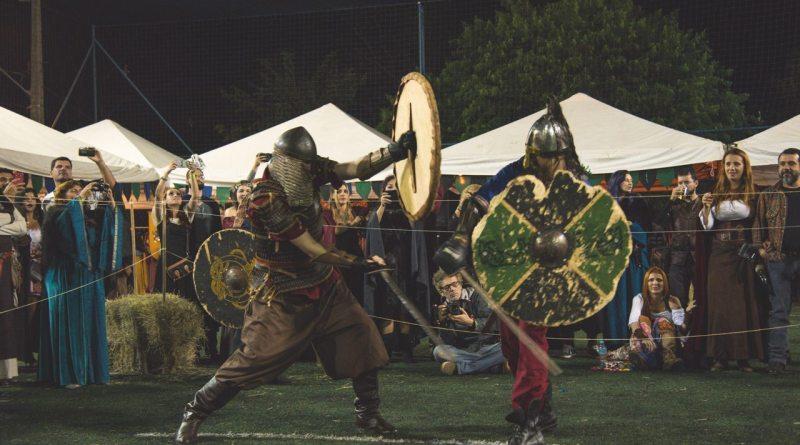 exposição medieval no festival de inverno em socorro