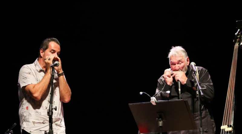 """Márcio Maresia e Clayber de Souza, dois ícones da gaita, se unem nesta quinta-feira (20/09) em Jundiaí no show """"Blues e Jazz Special""""no Yellow Pubmarine."""