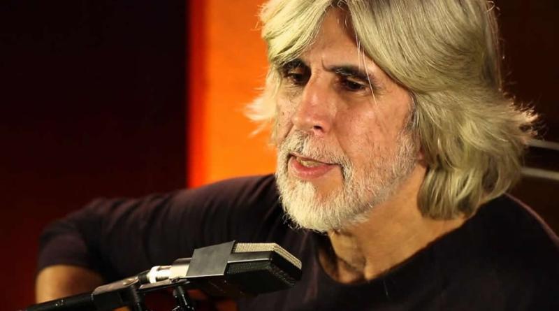 Oswaldo Montenegro na gravação do clipe da Brasil in Conserto