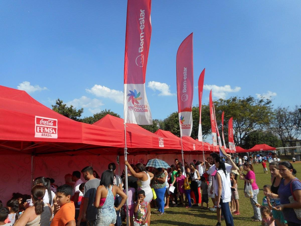 Dia das Crianças: Coca-Cola FEMSA Brasil promove a Praça da Cidadania em Jundiaí