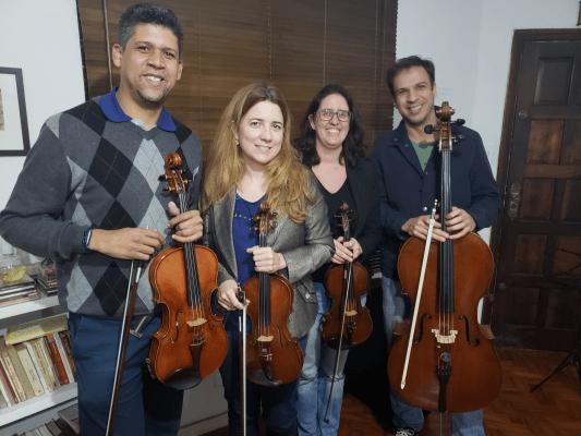 Quarteto Brasilis Noster faz apresentação gratuita no Sesi Jundiaí