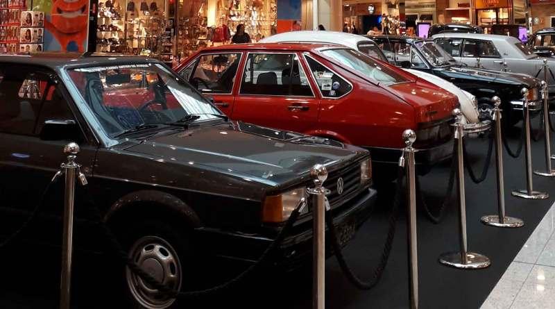 Exposição do Carro Antigo no JundiaíShopping