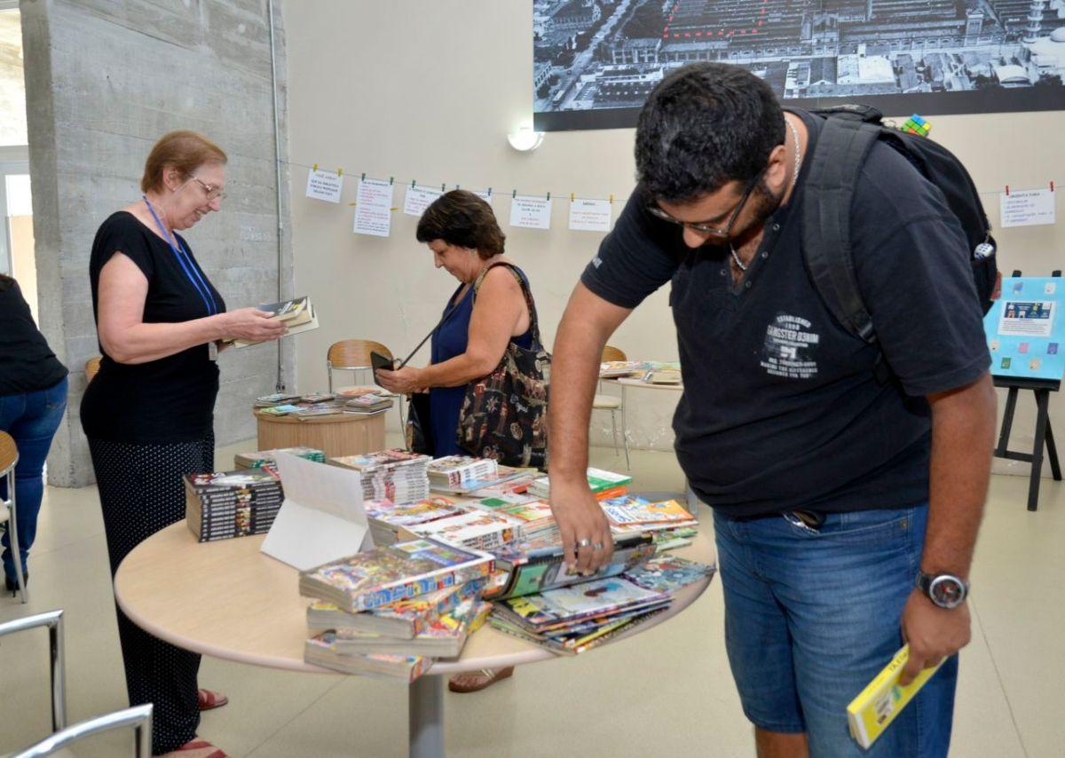 Biblioteca Municipal de Jundiaí promove feira de troca de livros