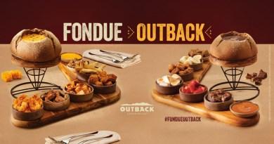 Fondues com hits do menu são novidade no Outback