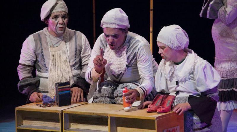 Shakespeare para crianças no teatro do Sesc Jundiaí