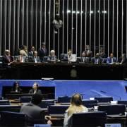 Foto do plenáario da Cãmara