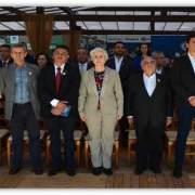 Foto do presidente da Faemg na Megaleite