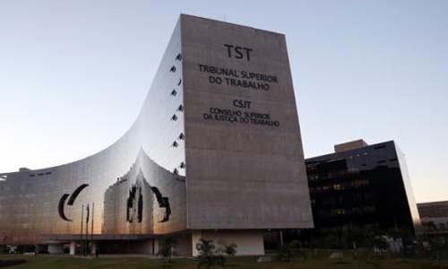 Foto do prédi do TST