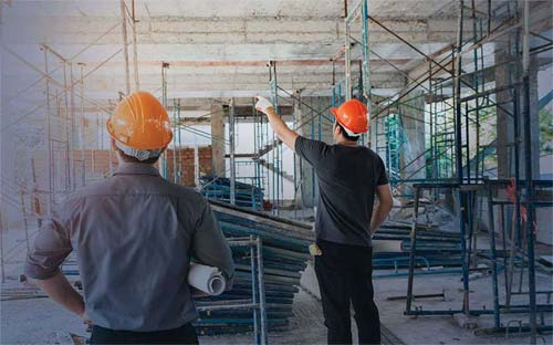 Foto ilustrativa de construção civil