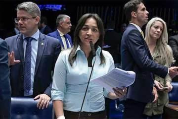 Foto da Senadora Eliziane Gama (Cidadania-MA)