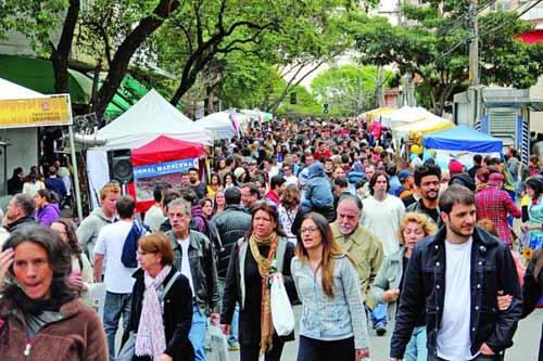 Foto ilustrativa da Feira de Artes Vila Madalena (Arquivo)