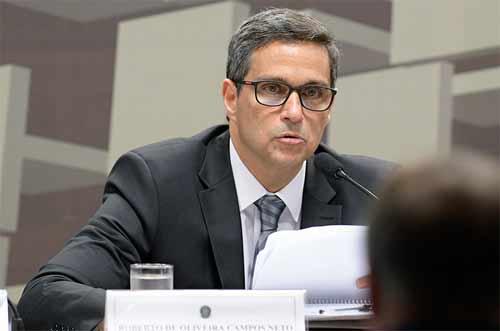 foto do presidente do BC, Roberto Campos Neto