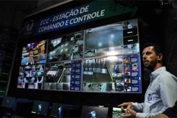 Foto da sala de controla