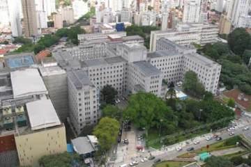 Vista aérea do Hospital das Clínicas de São Paulo