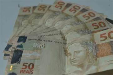 Foto ILustrativa, notas de R$ 50