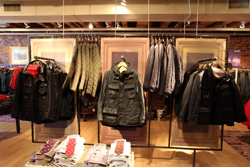 barbour outlet store